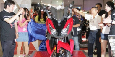 PRJ 2017 dan Launching Cruisym 300i